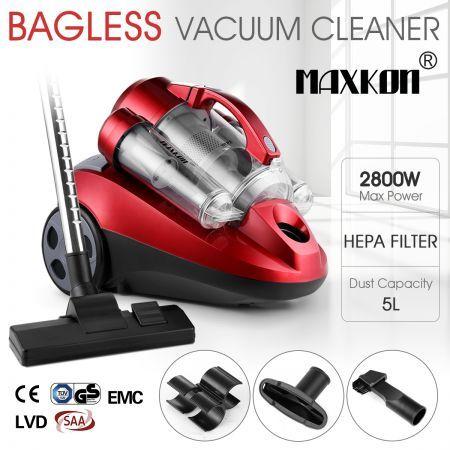 5L Multi Cyclonic Bagless Vacuum Cleaner W HEPA Filter