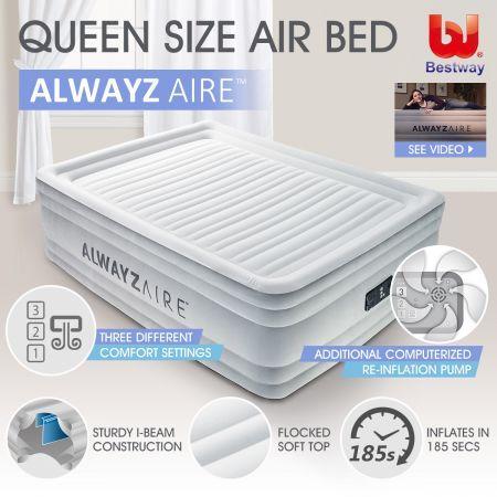 8cf6232adab0 Bestway AlwayzAire Mattress Electric Air Pump Bed - Queen Size ...