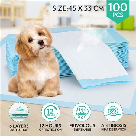 Tear Resistant Absorbent Anti Bacterial Pet Training Pads