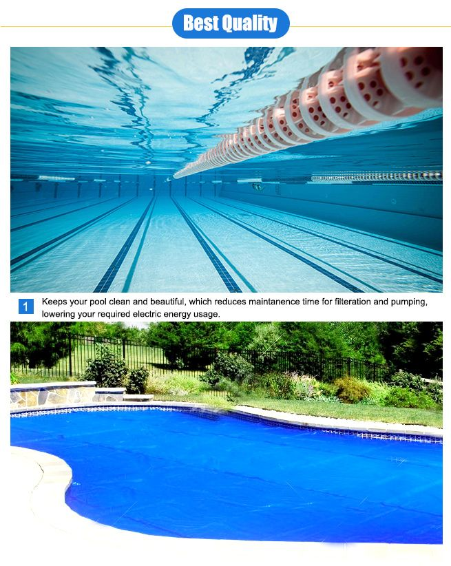 500 Micron Solar Swimming Pool Cover Blanket 10m X 4m Crazy Sales