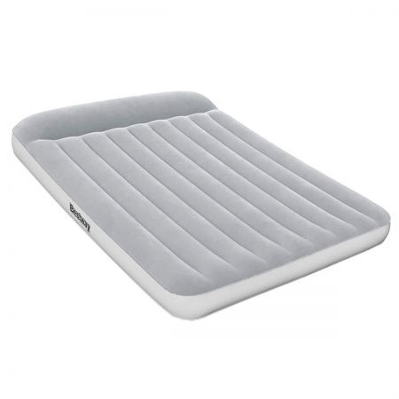Bestway Queen Size Air Bed Inflatable Mattress Flocked