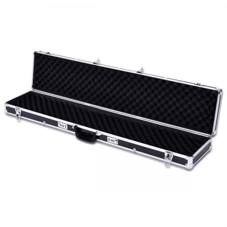 Portable Hard Gun Case Safe Rifle Box with Double Lock