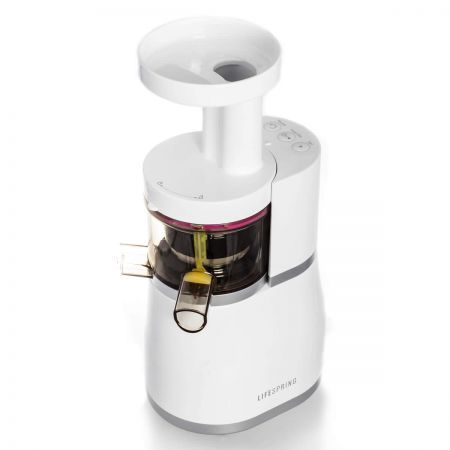 Lifespring Slow Juicer Review : Lifespring Slow Juicer in Mutual Counter Rotation System (MCRS) Crazy Sales