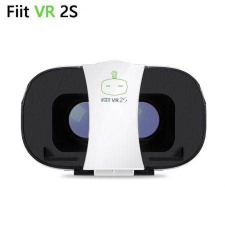 FIIT 2S Virtual Reality 3D Smartphone VR Headset Glasses Google Cardboard Head