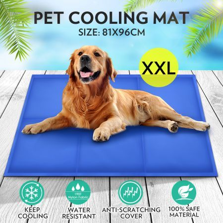 Pet Self Cooling Gel Mat Bed Xx Large Crazy Sales