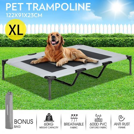Heavy Duty Pet Trampoline Cot-x-Large
