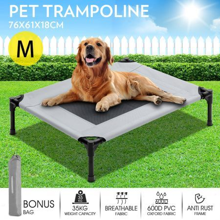 Heavy Duty Pet Trampoline Cot-Medium