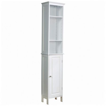 Dignity tall bathroom unit cabinet white crazy sales - White tall bathroom storage unit ...