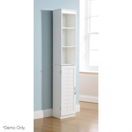 Weave bathroom storage cabinet tall unit white crazy sales - White tall bathroom storage unit ...