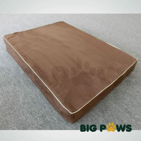 Big Paws 15cm Thick Extra Large 100% Memory Foam Dog Bed Orthopedic Pet Kennel Cushion