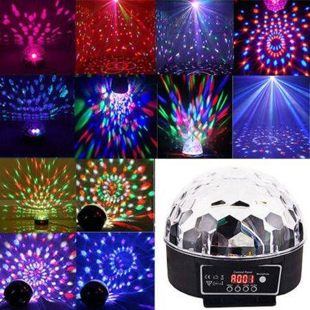 Premium effect disco light stage dj laser lights club party crystal lud premium effect disco light stage dj laser lights club party crystal magic ball aloadofball Images