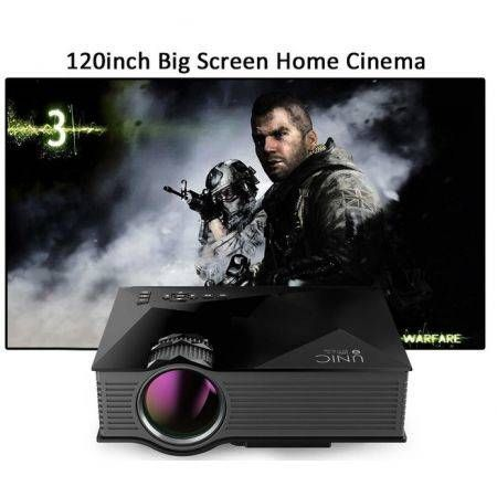 UNIC UC46 Wireless Wifi Mini Portable Full HD Led Video Home Cinema Projector