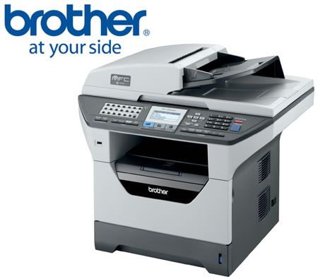 Brother MFC-8880DN 6-in-1 High Speed Mono Laser Multi-Function Centre with  Automatic Duplex, Fax and Network Print / Fax / Copy / Scan / PC Fax /
