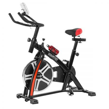 PowerTrain Home Gym Fitness Heavy Flywheel Spin Bike