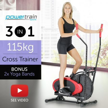 83ad2daea835 PowerTrain Home Gym Elliptical Cross Trainer | Crazy Sales