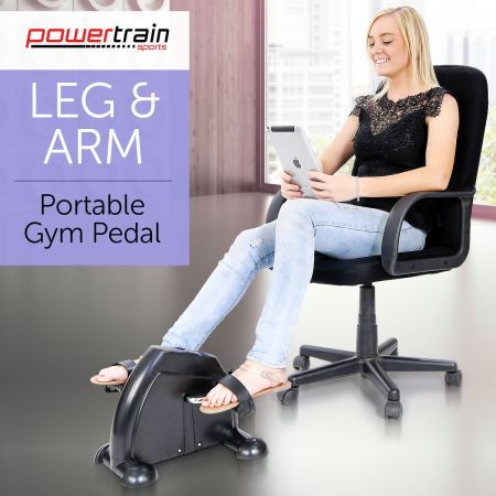 Powertrain Portable Home Gym Mini Arm And Leg Trainer Exercise Bike