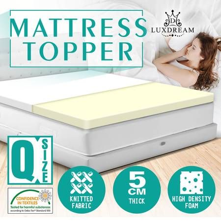 the best attitude 7d17c 3524f 5cm High Density Foam Mattress Topper- Queen Size
