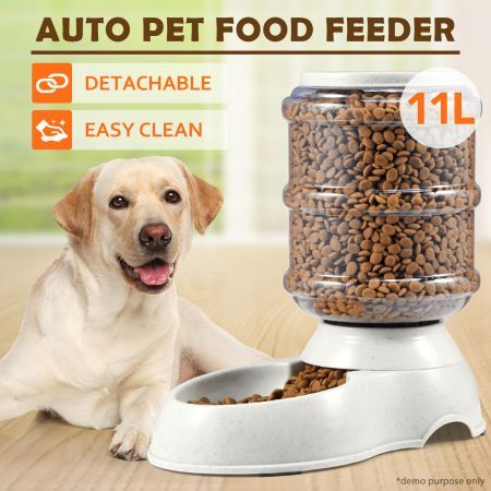 11L Pet Dog Automatic Food Feeder
