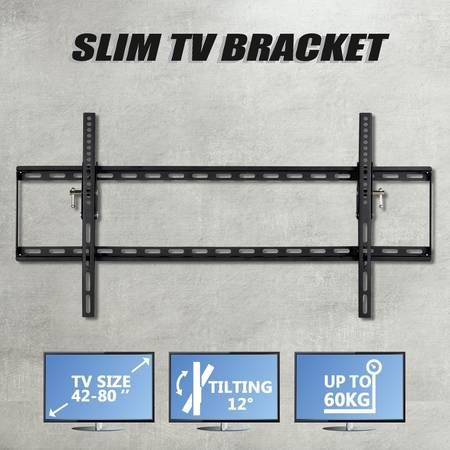 Tilt TV Wall Mount Bracket 42-80""