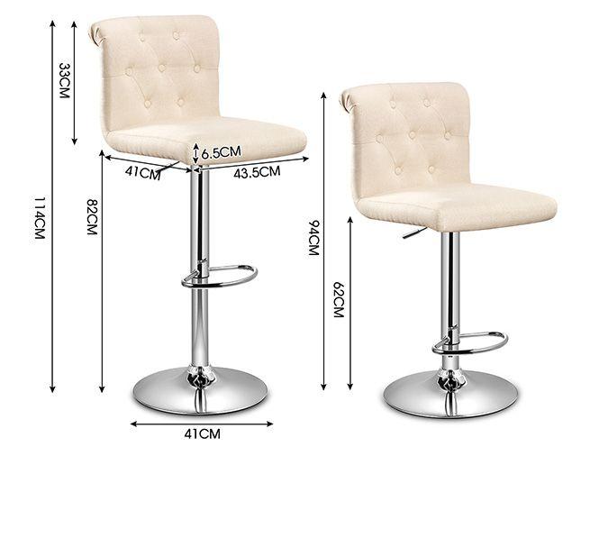 2x New Fabric Swivel Bar Stool Kitchen Dining Chair  : 144957939651extra from www.ebay.com.au size 655 x 607 jpeg 47kB