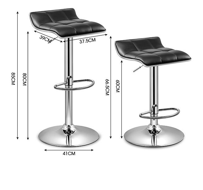 2x New PU Leather Bar Stool Gas Lift Kitchen Dining Chair  : 144959939633extra from www.crazysales.com.au size 655 x 613 jpeg 49kB