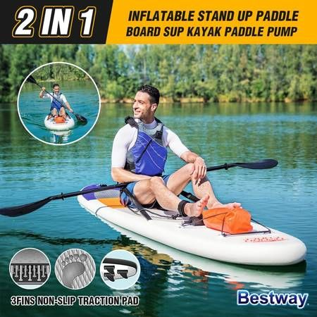 Bestway Hydro Force Inflatable Paddle Board HighWave SUP