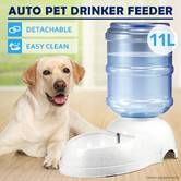 11L Auto Pet Waterer Automatic Water Dispenser Drinking Feeder