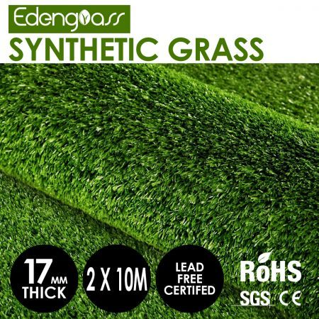 Edengrass 2Mx10M 17mm Artificial Grass Synthetic Turf Fake Lawn
