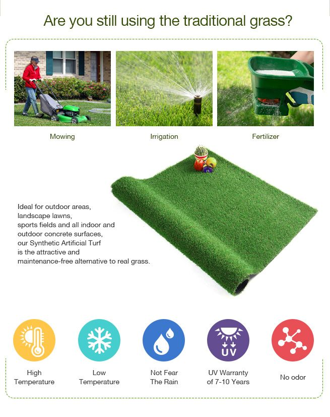 2mx10m artificial grass synthetic turf fake lawn 30mm. Black Bedroom Furniture Sets. Home Design Ideas