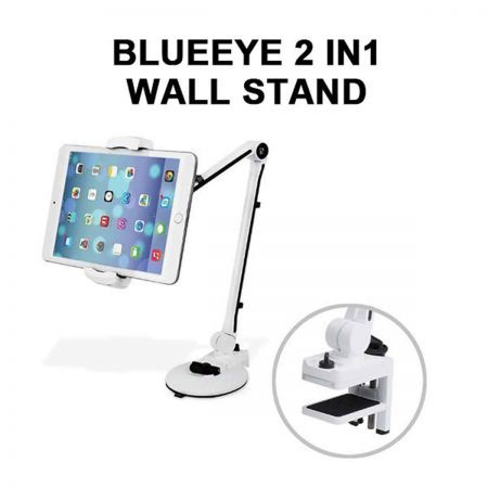 Blueeye 2-In-1 Wall Stand - White