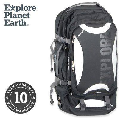EPE Torino 65 Travel Backpack Harness Bag - Black