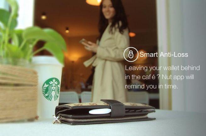 Nut3 Smart iTag Wireless Anti Perdida Locator Luggage Tracker Bluetooth Key  Finder