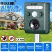 MAXKON Ultrasonic Bird & Animal Repeller Solar Powered Pest Repeller