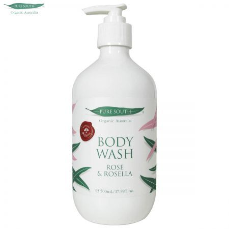 Pure South Organic Body Wash - Rose & Rosella