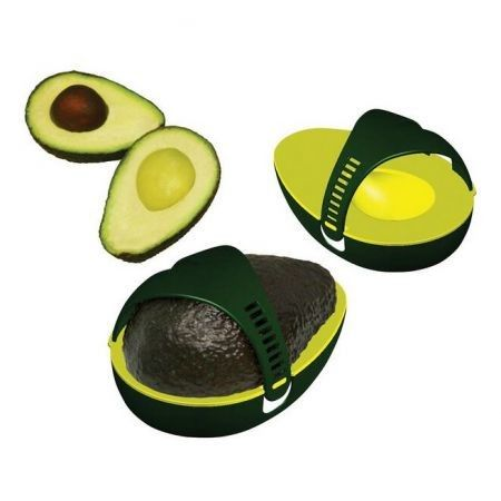 Plastic Avocado Avo Stay Fresh Leftover Half Food Keeper Holder