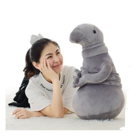 Plush Toy Zhdun Meme Tubby Gray Blob Zhdun Toy Snorp Plush Doll