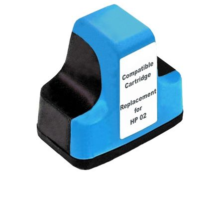 Cyan High Capacity Remanufactured Inkjet Cartridge
