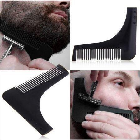 Beard Shaping Tool Sex Gentleman Beard Trim Template