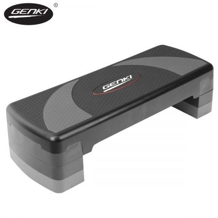 Genki Aerobic Steps Gym Workout Exercise 4 Block Bench Step