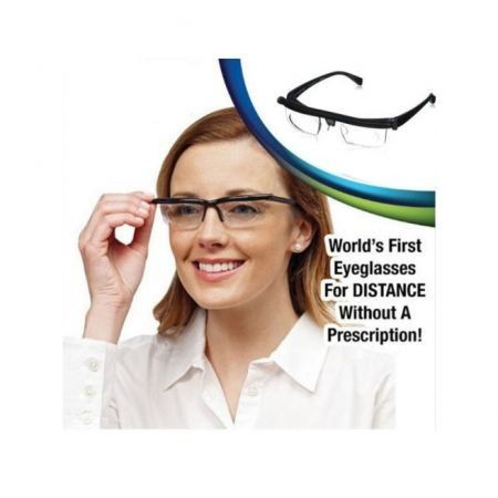 Adjustable Dial Eye Glasses Vision Reader Glass Unisex Variable Focus Glass