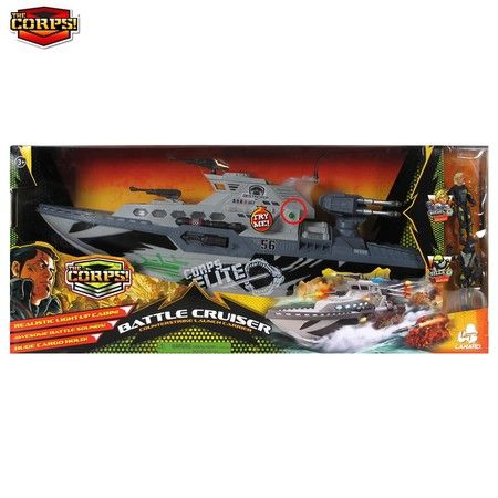 The Corps Battle Cruiser Counterstrike Launch Carrier Action Figure