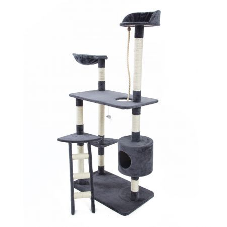 Cat Tree Scratcher FUJI 158cm - Grey