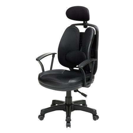Korean Office Chair SUPERB - Black