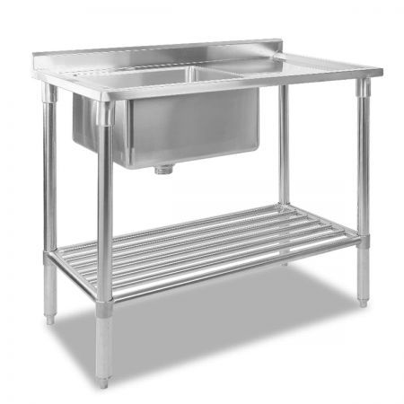 Stainless Steel Sink Bench 100x60cm