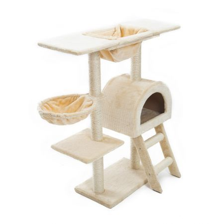 100cm Cat Tree Scratcher ATACAMA - BEIGE