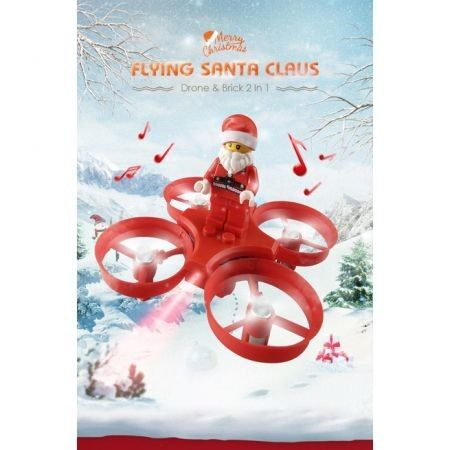 JJRC H67 Flying Santa Claus RC Helicopter 2.4G 4CH 6Axis RC Quadcopter