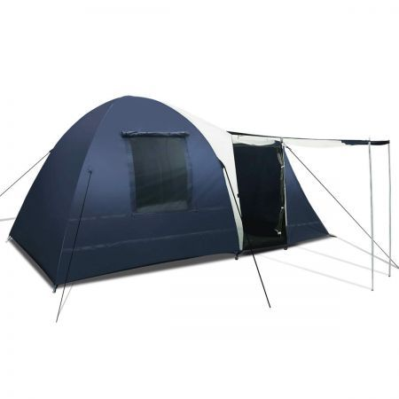 8 Person Dome Tent - Blue