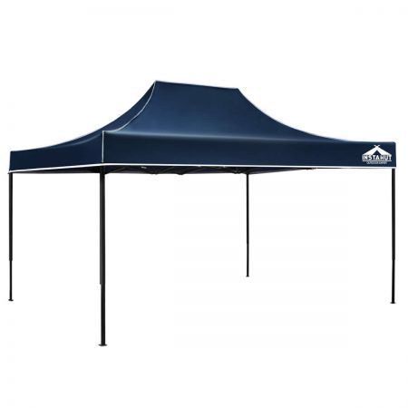 Instahut 4.5 x 3m Pop Up Gazebo - Navy