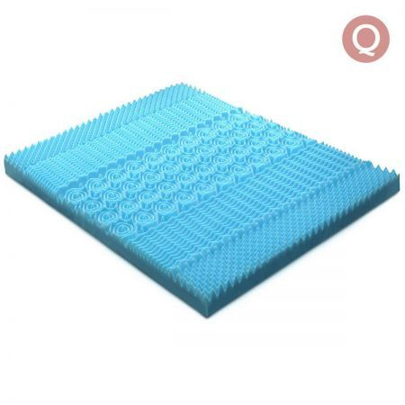 8cm Cool Gel Mattress Topper Queen