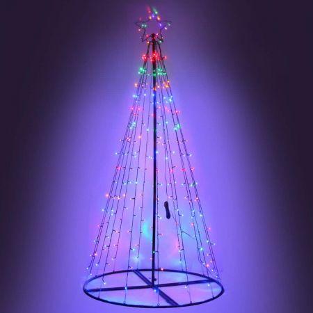 Jingle Jollys 3M LED Christmas Tree Multi Colour | Crazy Sales